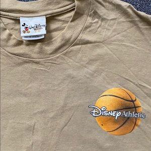 Vintage Disney world Athletics basketball shirt